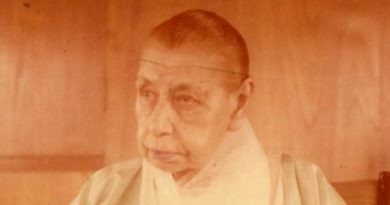 The Mother of Sri Aurobindo Ashram in her room