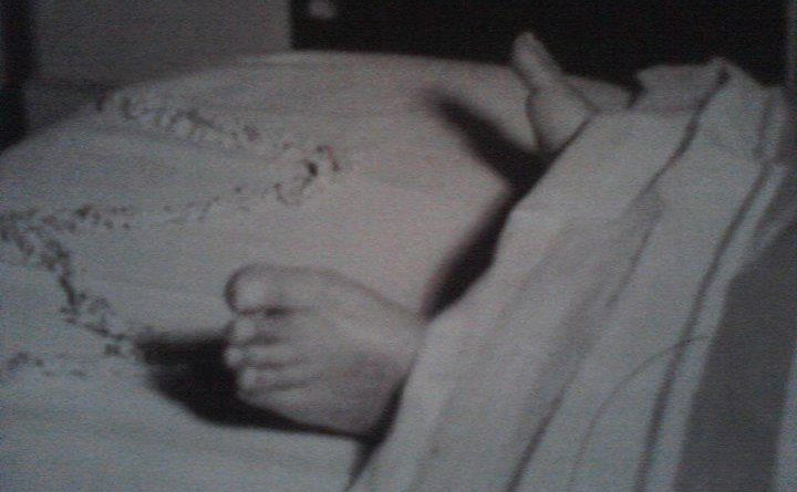 Sri Aurobindo's Feet