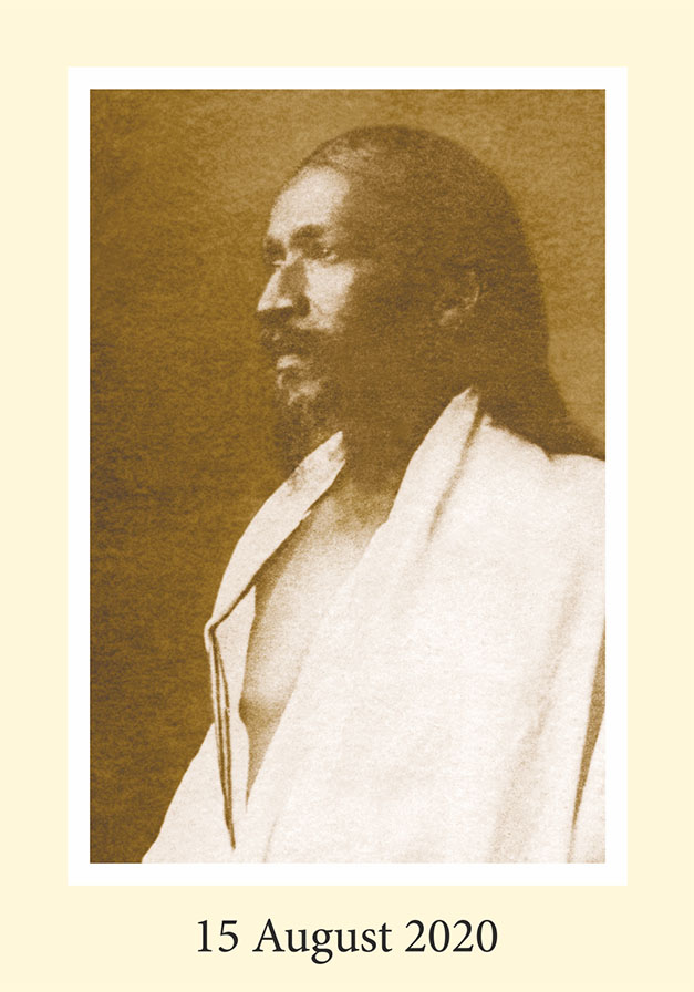 Darshan Card Sri Aurobindo Front
